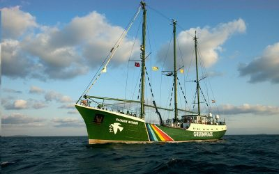 The recycling of Rainbow Warrior II – no winners here